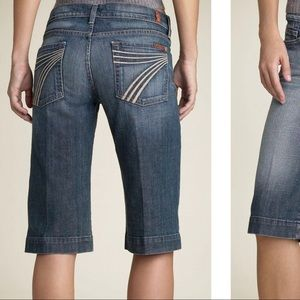 7 For All Mankind Jeans Dojo Bermuda Shorts
